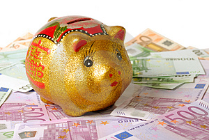Rich Pig Royalty Free Stock Photos - Image: 1914588