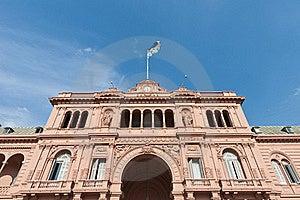 Casa Rosada At Buenos Aires Royalty Free Stock Photos - Image: 19100748