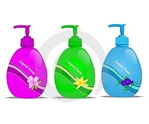 Liquid Soap, Cdr Vector Stock Image - Image: 19103371