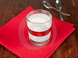 Panacotta Dessert Stock Photo - Image: 19104200