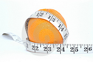 Orange And Meter Royalty Free Stock Image - Image: 19104286