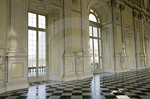 Venaria Reale Torino Stock Photo - Image: 19104620