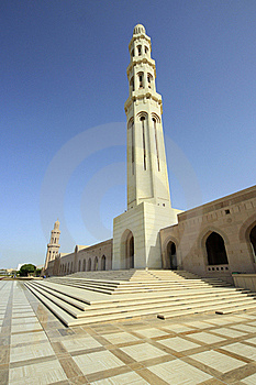 Sultan Qaboos Mosque Royalty Free Stock Photography - Image: 19106227