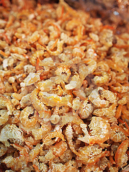 Chinese Style Dried Shrimps Royalty Free Stock Images - Image: 19107429