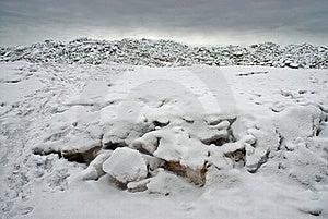 Ice At The Sea Coast Stock Photo - Image: 19113760