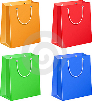 Paper Bags Royalty Free Stock Photos - Image: 19117818
