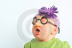 Funny Baby Royalty Free Stock Image - Image: 19119036
