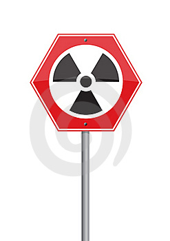 Warning Nuclear Royalty Free Stock Image - Image: 19119696