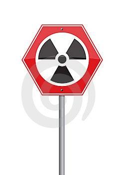 Warning Nuclear Royalty Free Stock Image - Image: 19119696