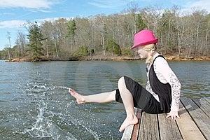 Fun At The Lake Royalty Free Stock Images - Image: 19120589