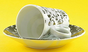 Cup With Saucer Stock Photography - Image: 19121782