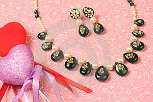 Valentine Jewellery Royalty Free Stock Images - Image: 19124099