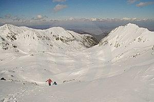 Winter Landscape In Retezat Mountain, Romania Stock Photography - Image: 19124632