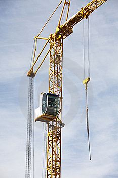 Construction Crane Royalty Free Stock Photos - Image: 19124928
