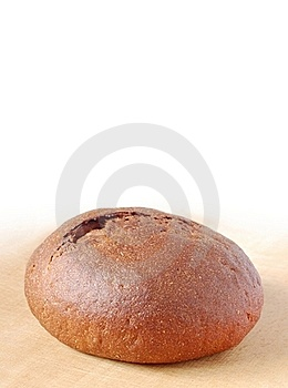 Loaf Of Fresh Bread. Space For Text Stock Photography - Image: 19132372