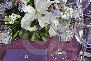 Party Table Royalty Free Stock Photos - Image: 19133428