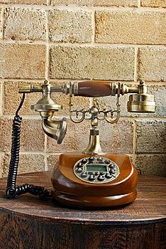 Vintage Luxurious Telephone Old Fashion Stock Images - Image: 19135444