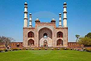 Sikandra Gate Royalty Free Stock Photo - Image: 19135905