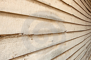Dirty Perspective Wood Wall Royalty Free Stock Images - Image: 19136479