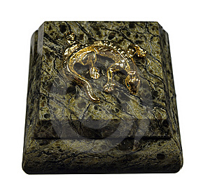 The Box Is Made Of Natural Stone Stock Photo - Image: 19136900