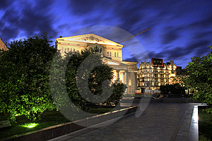 Moskow Royalty Free Stock Image - Image: 19137956
