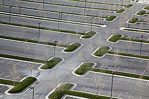 Empty Carpark Oblique Royalty Free Stock Photography - Image: 19138017