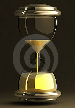 Closeup Of Hourglass Royalty Free Stock Photography - Image: 19138247