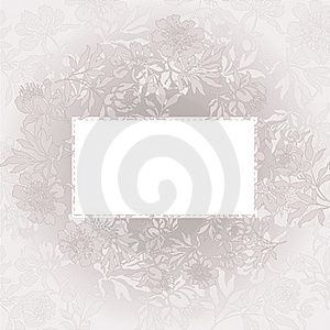 Beige Floral Background Royalty Free Stock Photo - Image: 19138785
