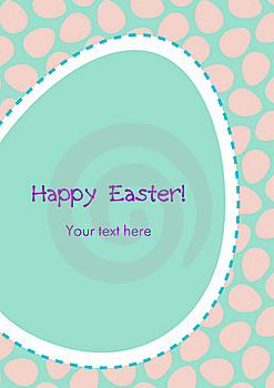 Easter Greeting Card Royalty Free Stock Photography - Image: 19139887