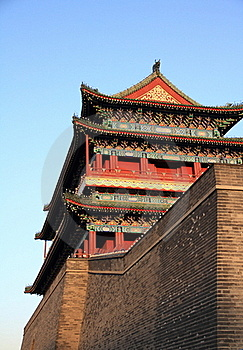 The Zhengyang Gate Royalty Free Stock Photo - Image: 19141375