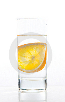 Water And Orange Royalty Free Stock Image - Image: 19142696
