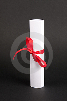 Document With Red Line Royalty Free Stock Images - Image: 19143389