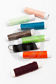 Set Of Threads Stock Photography - Image: 19144102