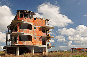 Construction In Bulgaria. Royalty Free Stock Images - Image: 19144939