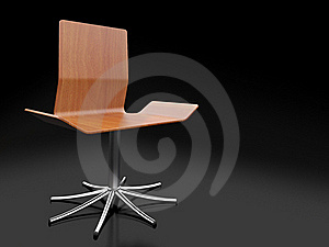 3d Wooden Chair Stock Images - Image: 19145224