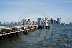 Buildings Of New York City Royalty Free Stock Photography - Image: 19145477