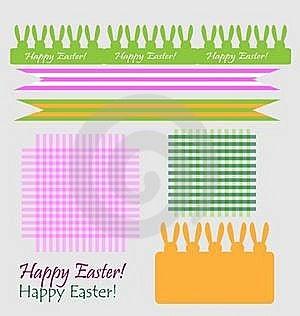 Set Of Easter Symbols Royalty Free Stock Photos - Image: 19145508