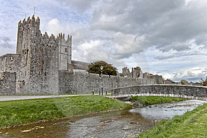 Fethard Abbey In Co. Tipperary, Ireland. Stock Images - Image: 19146564