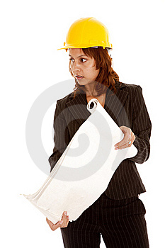 Showing Plans Royalty Free Stock Photo - Image: 19146795