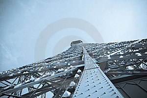 Abstract View Of The Eiffel Tower Stock Photography - Image: 19148702