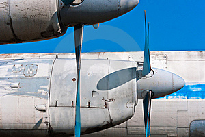A Propeller Airplane Royalty Free Stock Image - Image: 19150416