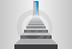 Staircase To The Sky Royalty Free Stock Photo - Image: 19150605