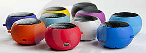 Usb Mini Speaker Royalty Free Stock Photography - Image: 19155327