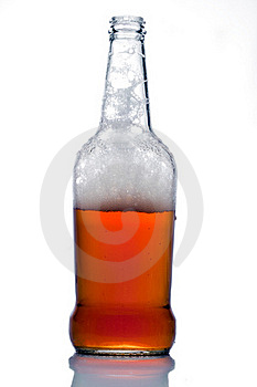 Open Botle Of Lager Beer Royalty Free Stock Image - Image: 19158386