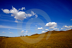 Meadow Meets Sky Stock Photos - Image: 19159203