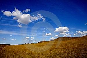 Meadow Meets Sky Stock Photos - Image: 19159203