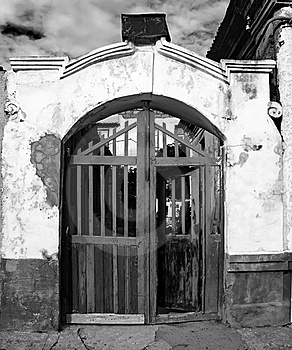 Vintage Entrance To An Old House Stock Photography - Image: 19160812