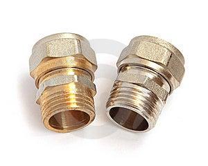 Nut Plumbing Royalty Free Stock Photos - Image: 19161558