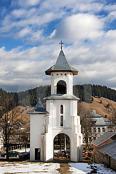 Orthodox Church In The The Of Humor, Next To Humor Stock Photos - Image: 19163303