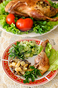 Roasted Duck Stock Photography - Image: 19163392